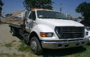 Used cars for sale, Lien sale cars, T-Rex Towing, Sacramento tow yard, 2001 Ford F-650 Tow Truck